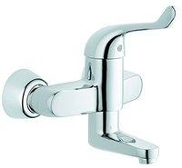 Grohe Euroeco Special Einhand-Sicherheitsmisch-Waschtischbatte (Chrom, 32791)