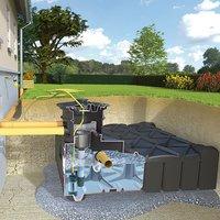 Rewatec Gartenanlage F-Line Eco 3000 L