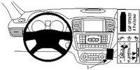 Brodit ProClip Mercedes Benz M-Klasse Bj. 12