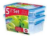 Emsa Clip & Close Frischhaltedosen 5-er Set