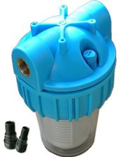 "Mauk Wasserfilter 3000 l/h 3/4 "" + Kohlefilter"