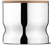 Georg Jensen Stahl Container Alfredo mit Deckel 9 cm