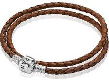 Pandora Leder Basisarmband braun (59705CBN-D2)