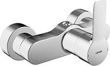 Hansa Airbrush Hansaligna Einhand-Brause-Batterie für Wandaufbau (Chrom, 6679103)