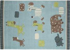 Esprit Lucky Zoo blau 90 x 160 cm