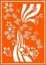 C. Kreul Textil-Schablone Flower Power