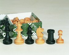 Weible Spiele Bohemia Schachfiguren (01112)