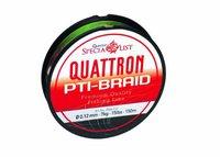Quantum Fishing Quattron PTI- Braid Angelschnur 150m 012mm