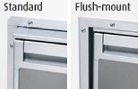 Waeco Einbaurahmen Flush-mount für CR-50 Chrom