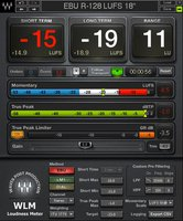 Waves WLM Loudness Meter