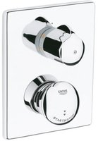 Grohe Eurodisc SE Selbstschluss-Brause-Thermostat (Chrom, 36247)