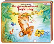 Kiddilight Mein schönstes Puzzlebilderbuch: Tierkinder