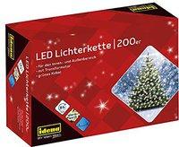 Idena Led-Außenlichterkette warm weiß 200-er (8325066)