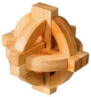 Fridolin IQ-Test - Puzzle aus Bambus - Doppelte Scheibe (17495)