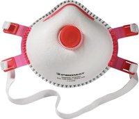 Ekastu Safety Feinstaubfilter-Maske Mandil FFP3/V (5 Stk.)