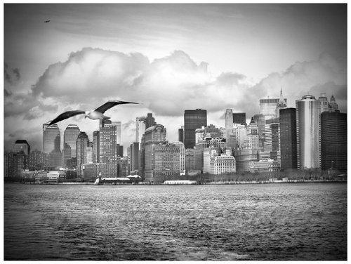 New York Fensterbild