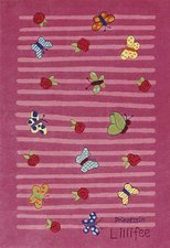 Böing Carpet Prinzessin Lillifee Schmetterling 130 x 190 cm (2099)