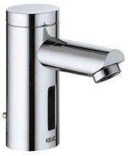 Keuco Plan IR Sensor Waschtischarmatur mit Ablaufgarnitur, Batteriebetieb (Edelstahl, 54911070000)