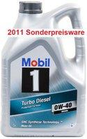 Mobil Oil 1 Turbo Diesel 0W-40