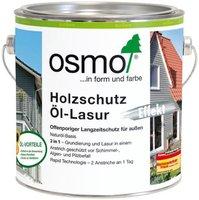 Osmo Holzschutz Öl-Lasur Effekt Achatsilber 2,5 Liter (1140)