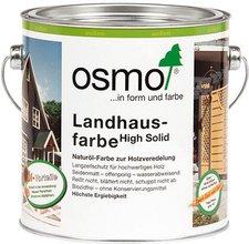 Osmo Landhausfarbe Lichtgrau 2,5 Liter (2735)