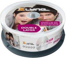 xlyne DVD+R DL 8,5GB 8x 25er Spindel