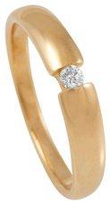 Bella Donna Gelbgoldring mit Diamant (910072)