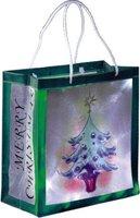 Hellum Einkaufstasche mit LED-Beleuchtung Weihnachtsbaum