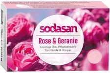 Sodasan Wildrose Cream Bio-Seife (100 g)