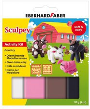 Eberhard Faber Sculpey Activity Kit Country
