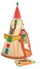Hilka Cesar Group Indianer-Tipi für Kinder