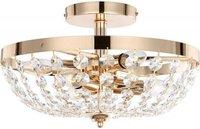 Globo Lighting Decken-Kristallglasleuchte Cardinalis (47006-6)