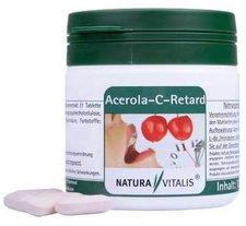 Natura Vitalis Naturavitalis Acerola-C-Retard Presslinge (120 Stk.)