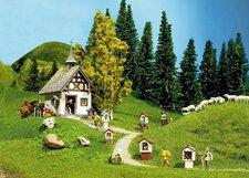 Faller 130235 - Kapelle mit Wegkreuz