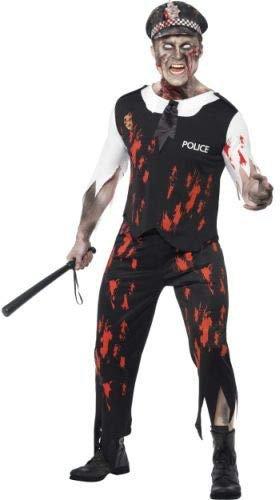 Zombie Polizist Halloween Kostüm