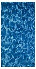 Möve Strandtuch Wasser (100 x 180 cm)