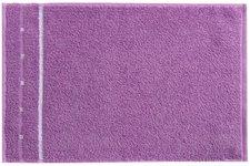 Vossen Quadrati Gästetuch violett/weiß (30 x 50 cm)