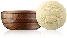 Taylor of Old Bond Street Sandalwood Herbal Shaving Soap in Wooden Bowl (100 g)