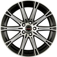 Borbet CW1 (7x17) black polished 5x108