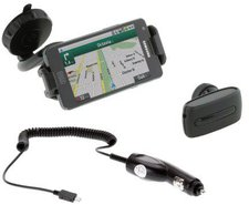 eKit Kit KFZ-Handyhalterung inkl. Bluetooth-Headset