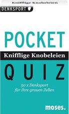 Moses Pocket Quiz - Knifflige Knobeleien