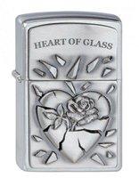 Zippo Heart of Glass Emblem