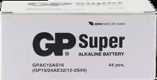 GP AA32x AAA12x Batterie Alkaline Megapack Set (44 St.)