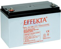 Effekta BTL 12-100 Solar-Batterie 12V 100 Ah