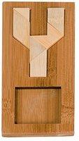 Fridolin IQ-Test - Bambus-Buchstabenpuzzle Y (17363)