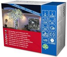 Konstsmide LED Micro-Lichterkette 24er Blitzeffekt kaltweiß (3621-140)