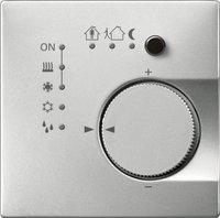 Merten KNX Raumtemperaturregler UP/PI m. 4-facher Tasterschnittstelle (6169XX)
