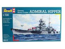 Revell German Heavy Cruiser Admiral Hipper (05117)