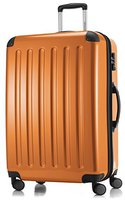 Hauptstadtkoffer 4-Rollen-Hartschalen-Trolley 75 cm orange TSA