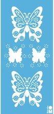 Marabu Motivschablone Butterfly 15 x 33 cm